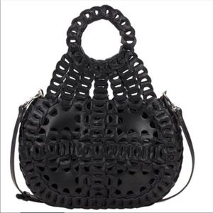 Patricia Nash Pisticci Woven Leather Shoulder Bag